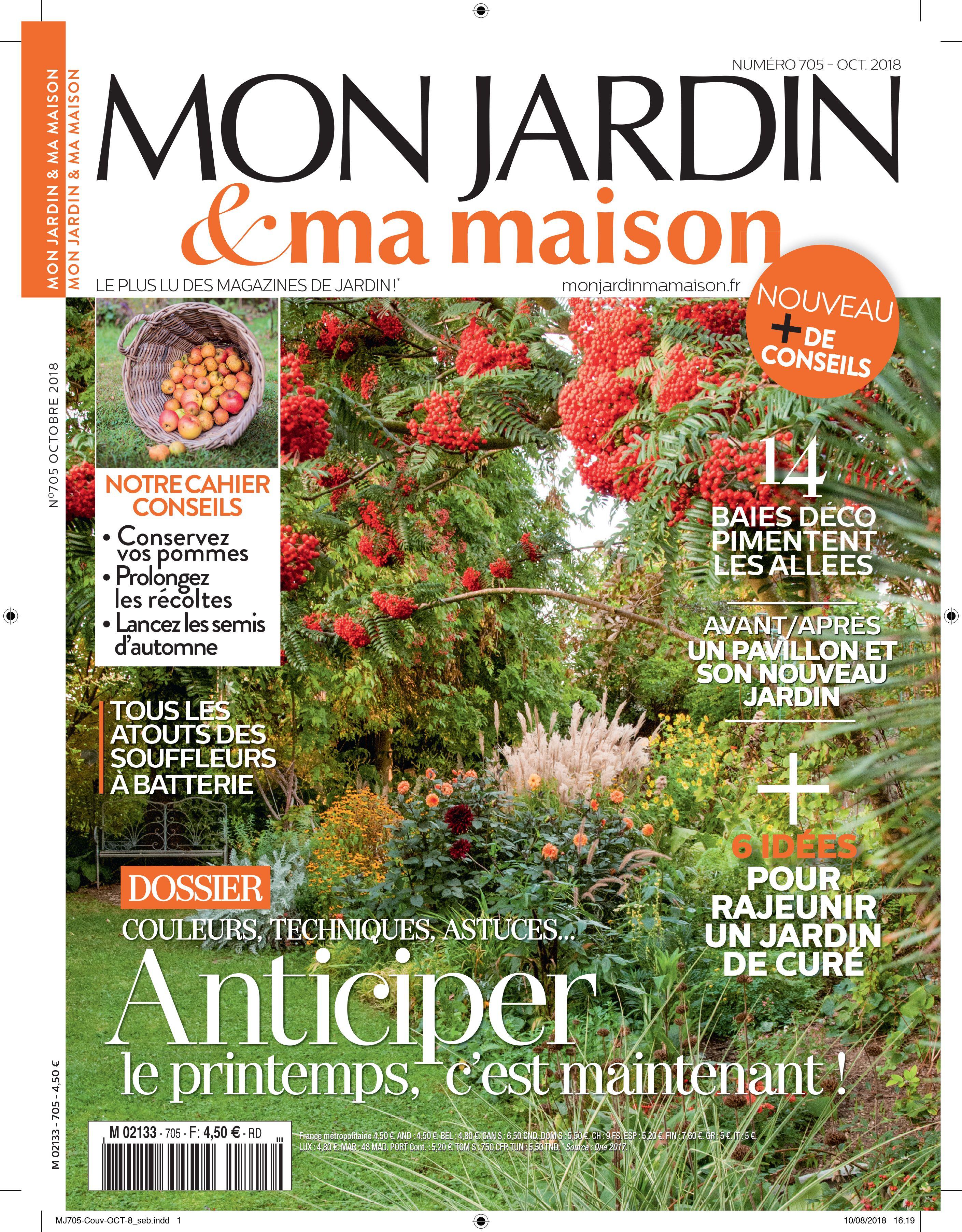 en kiosque retrouvez le numro 705 de mon jardin ma maison le magazine - Mon Jardin Ma Maison