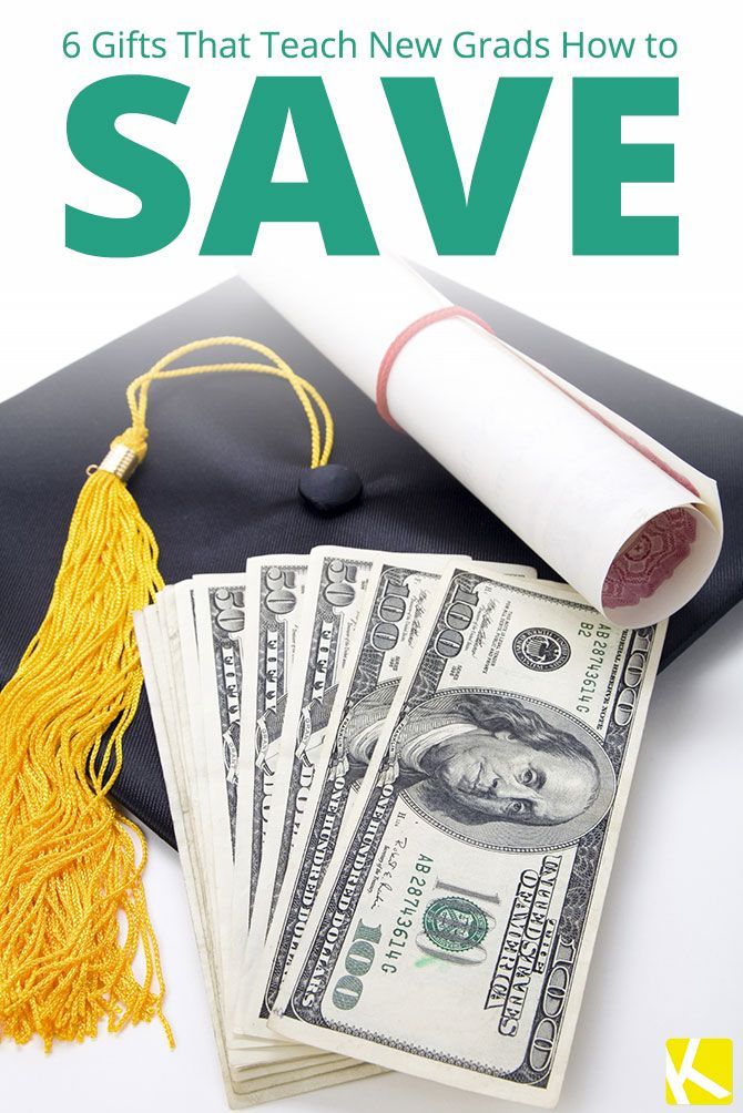 According to education data, student debt in the united states grows at a rate that's six times faster than that of the country's economy. 6 Gifts That Teach New Grads How to Save (With images