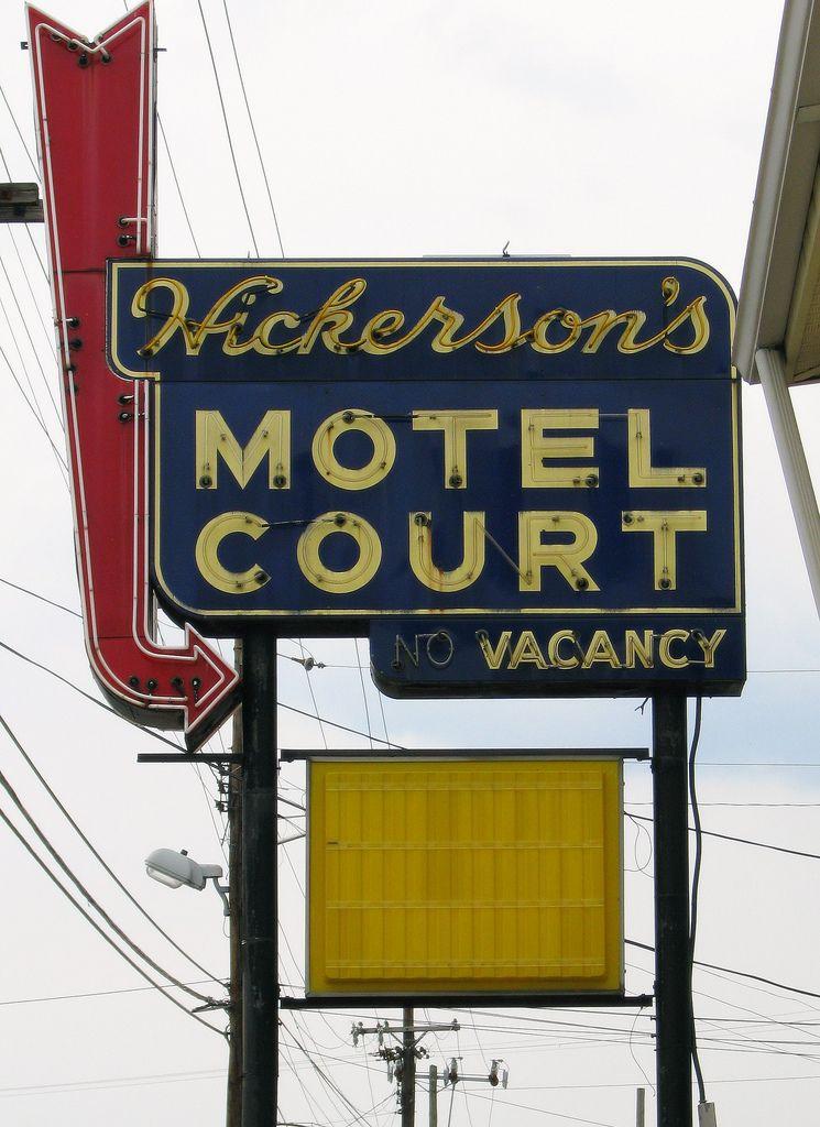Hickerson's Motel Court ~ Nashville TN
