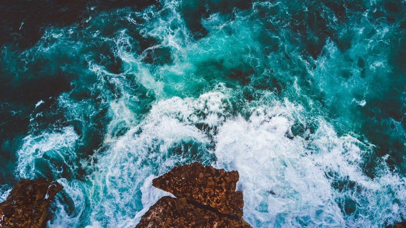 Ocean Wallpaper Hd Ocean Wallpaper Laptop Wallpaper Desktop Wallpapers Aesthetic Desktop Wallpaper