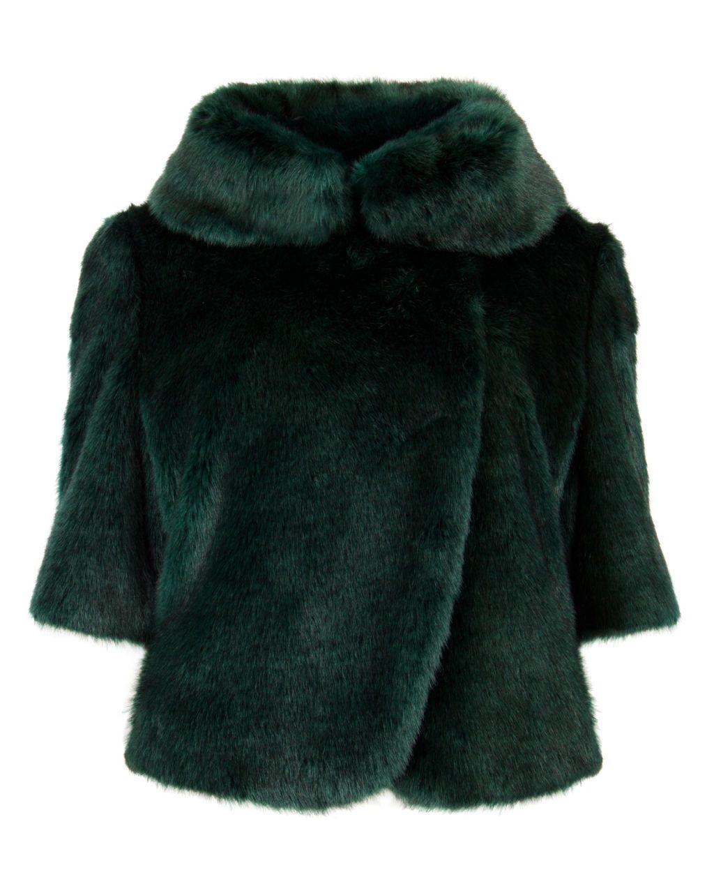 TED BAKER BIONCA faux fur
