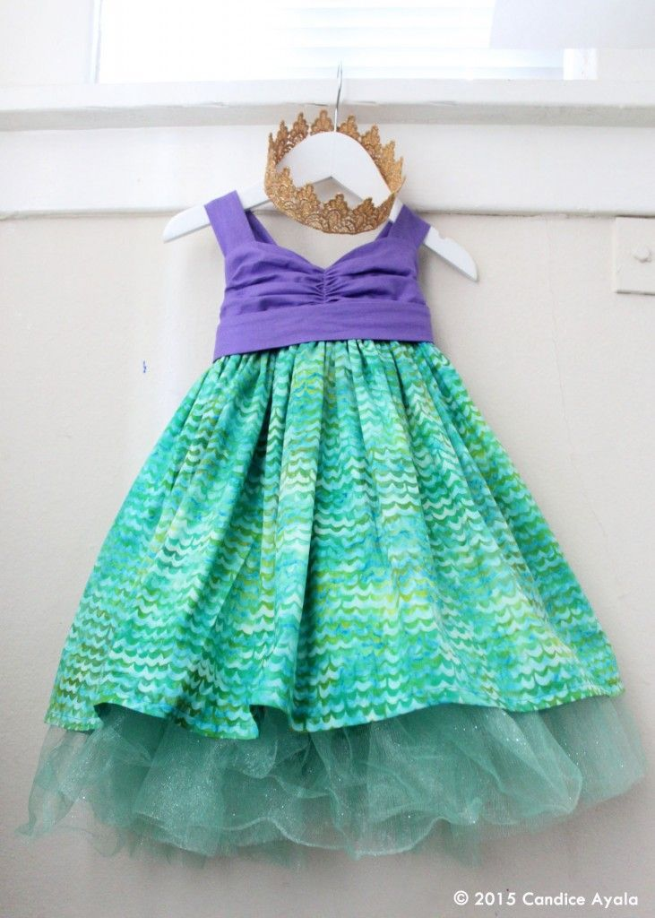 606c6e452 Little Mermaid Themed Birthday Dress Ariel the Little Mermaid. Cute outfit  for a mermaid birthday