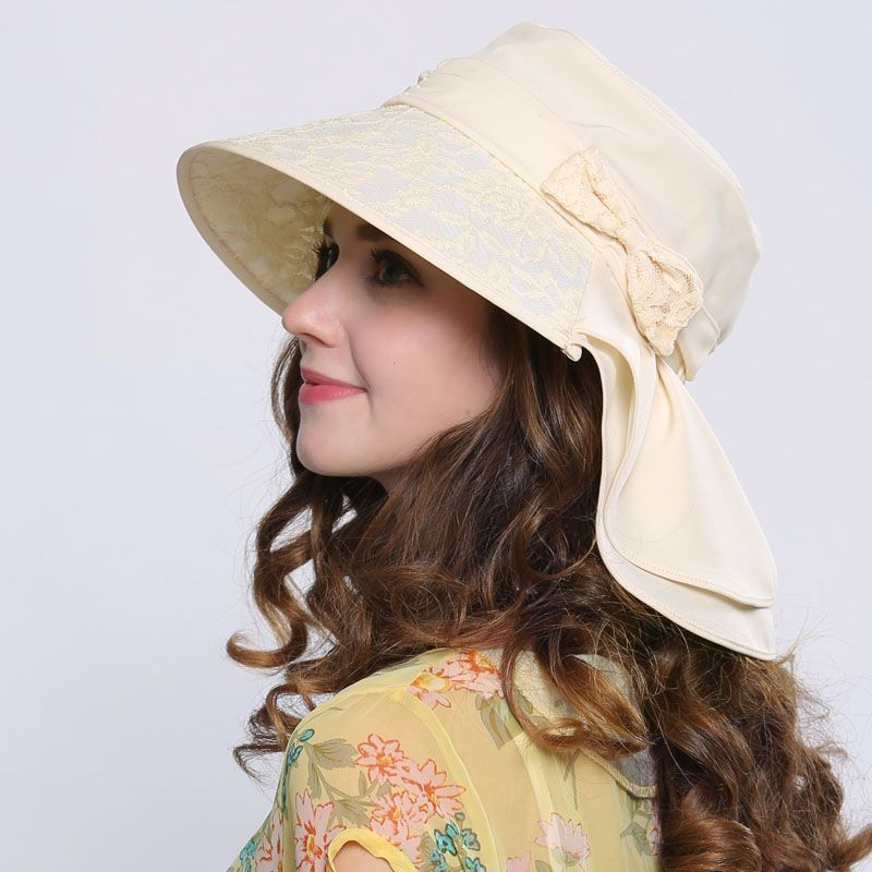 b59dac98664 Sun protection hats UV package summer womens hat