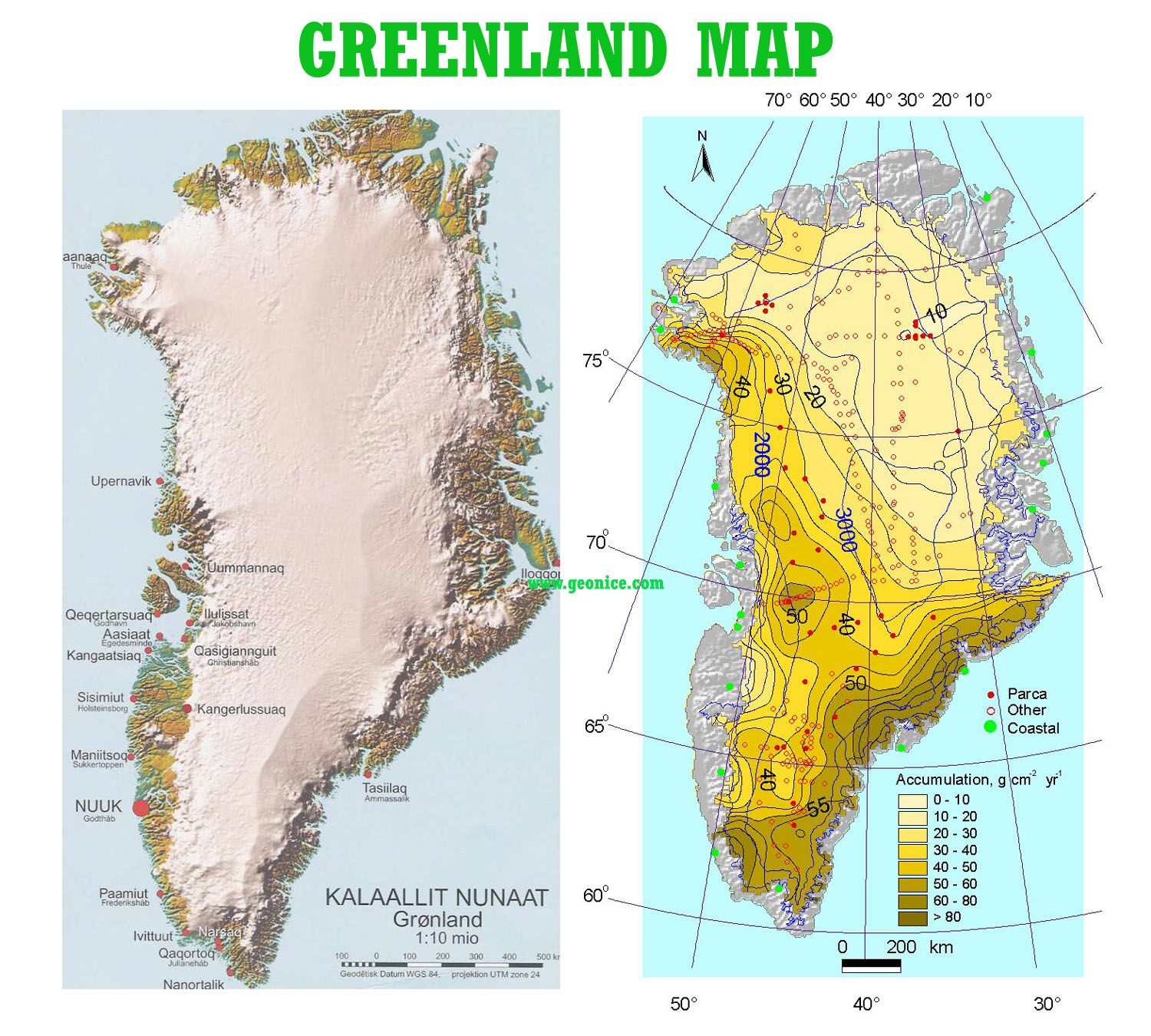Greenland Topo/Map Travel | Greenland map, Map, Arctic