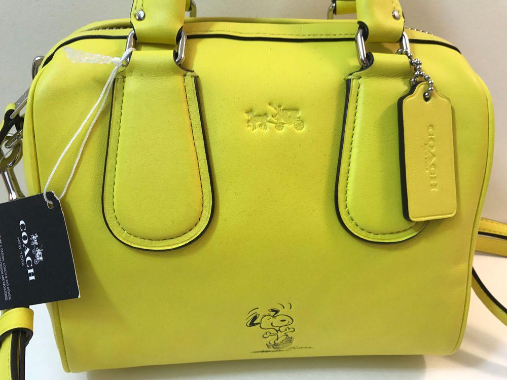 Coach Snoopy Purse Handbag On Ebay