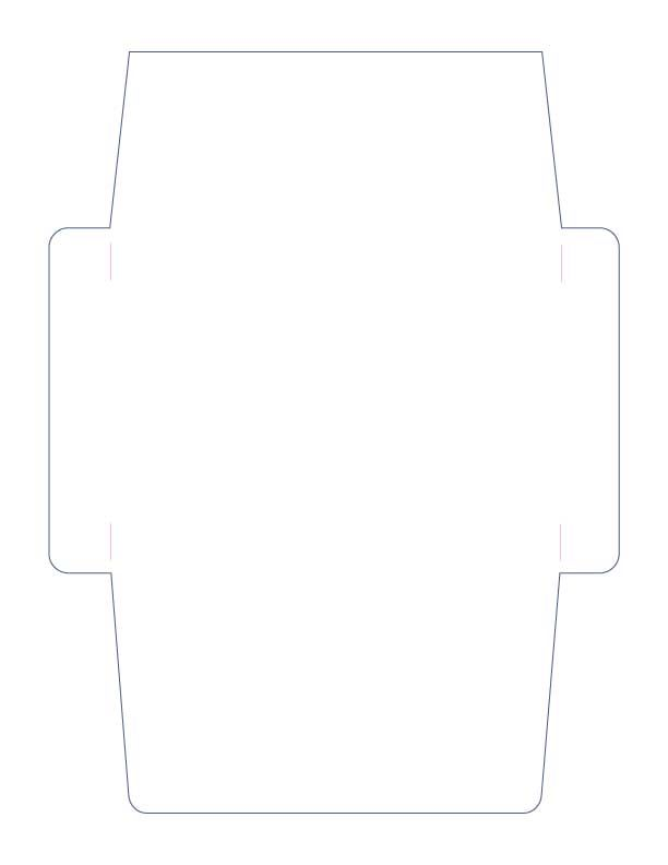 Simple A Envelope Cutting File In Svg Gsd And Knk Formats  Free