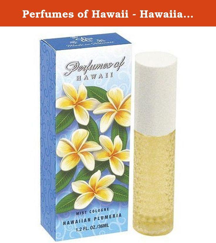 Perfumes Of Hawaii Hawaiian Plumeria Cologne Spray 1 2oz The Most Popular Hawaiian Leis Are Made Of This Velve Hawaiian Plumeria Plumeria Perfume Plumeria