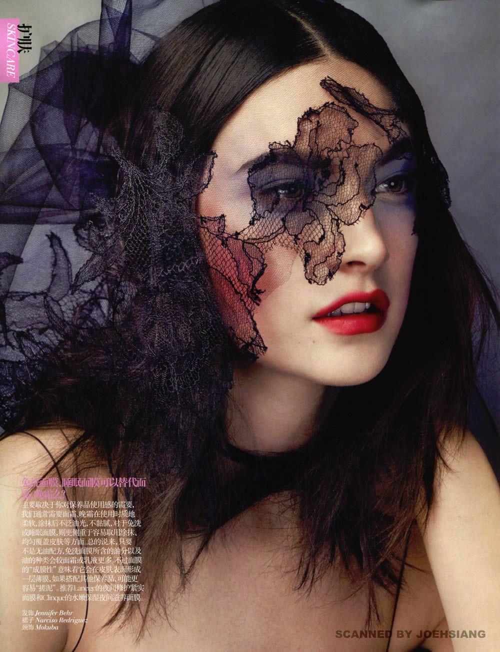 Jaquelyn Jablonski & Lina Zhang by David Slijper for Vogue China April 2013