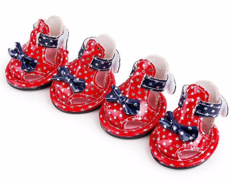 d3a6a4acc Patriotic Dog Summer Shoes