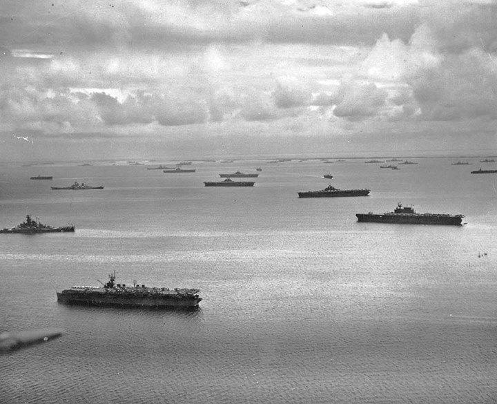 Resultado de imagen de La Task Force 58 regresando a Majuro