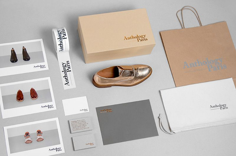 Brand Identity, packaging and stationery for Anthology Paris by Studio Plastac.