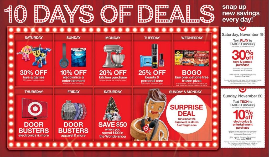 Target Take 30 Off Toys This Saturday Only Target Cyber Monday Weekly Ads Cyber Monday Deals