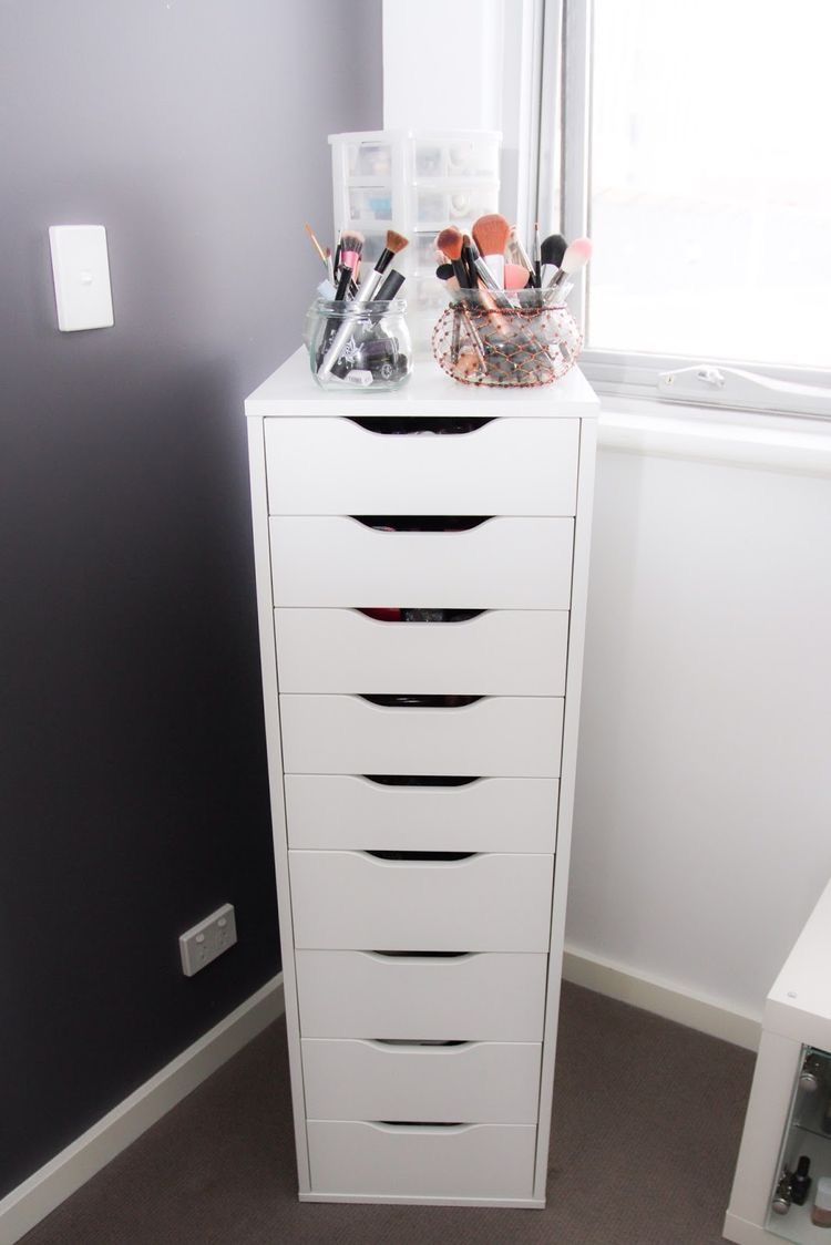 Alex Drawer Unit With 9 Drawers White Ikea In 2019 Christmas