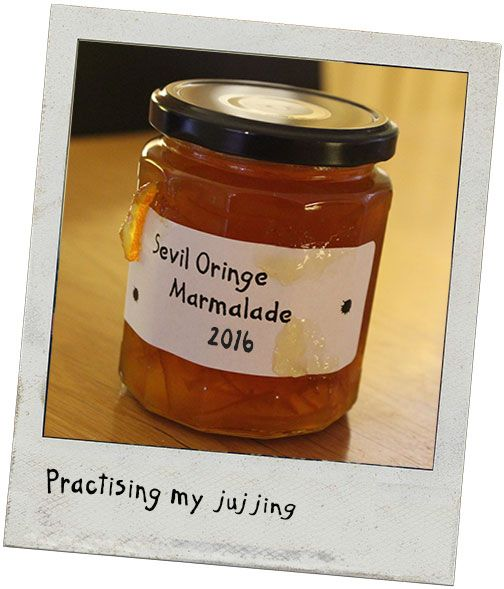 Paddington thought he should practice his tasting and picture taking before judging for the #MarmaladeAwards.