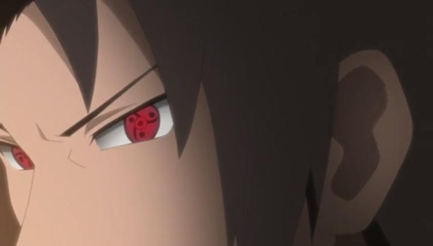 Fugaku's M Sharingan - screencap by me.