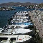 Harbor of Skala Eressos village, Lesvos island, northeast Aegean sea, Greece #aegeansea Harbor of Skala Eressos village, Lesvos island, northeast Aegean sea, Greece #aegeansea
