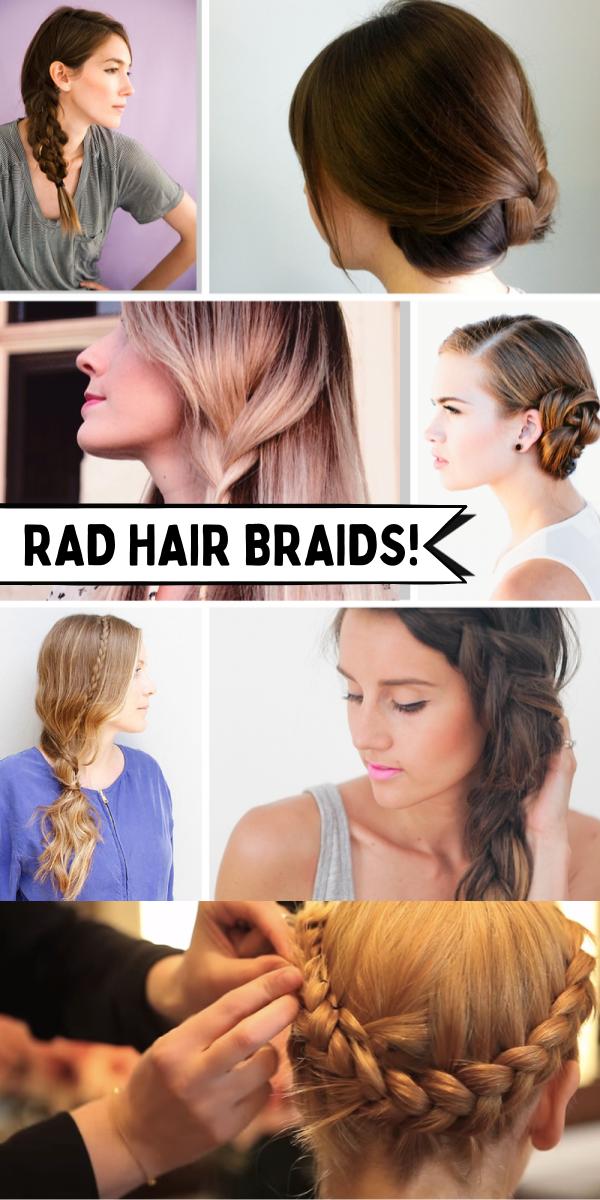10 Rad Ways To Braid Your Hair In 2020 Your Hair Braids Hair
