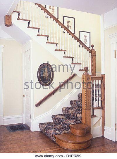 Newel Post Stock Photos Newel Post Stock Images Newel Posts Stairways Victorian Homes