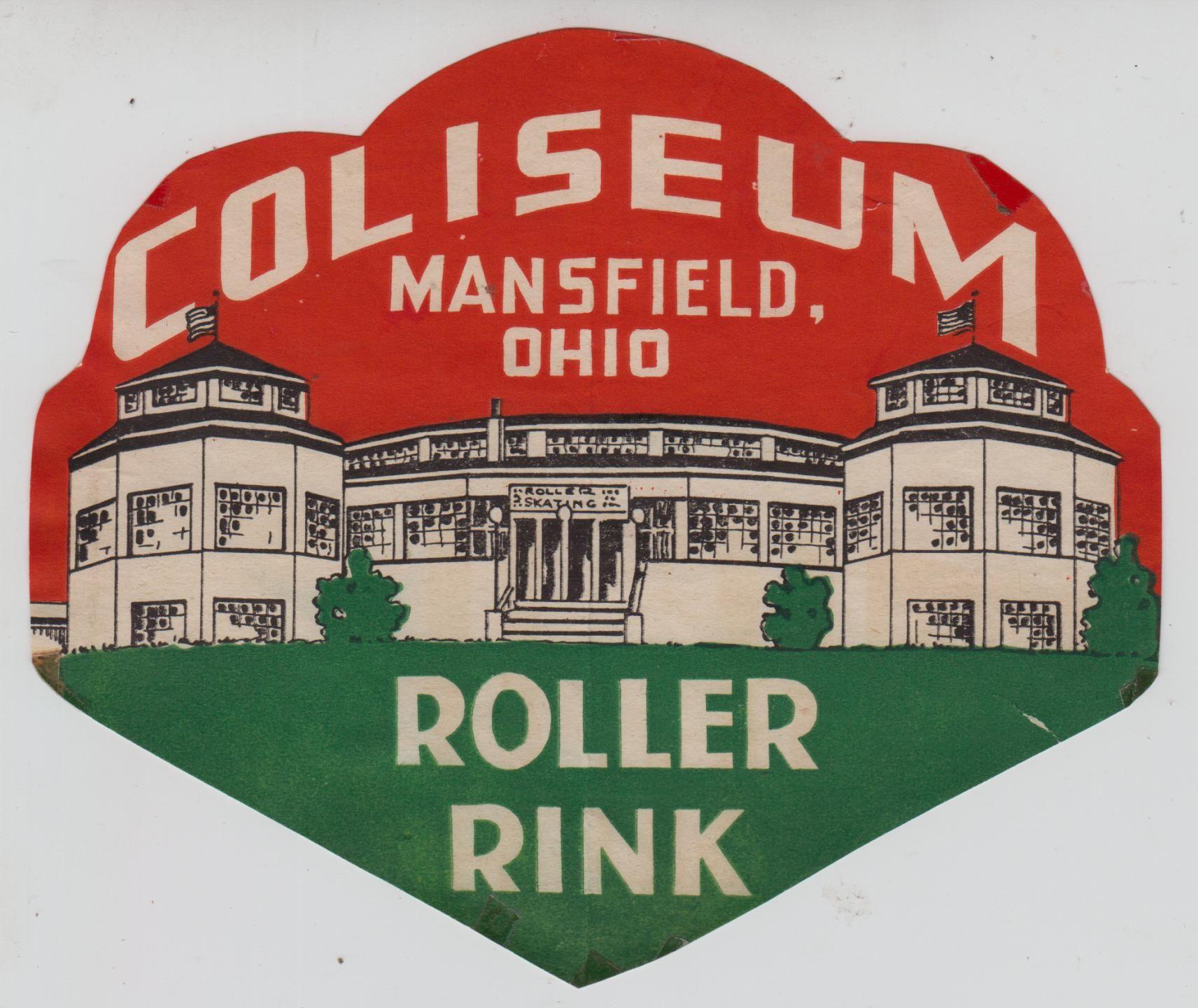 coliseum roller rink Roller rink, Ohio history