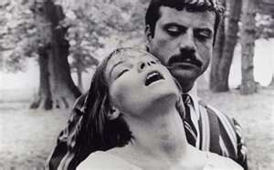 Glenda Jackson and Oliver Reed in Women in Love Photo: REX FEATURES