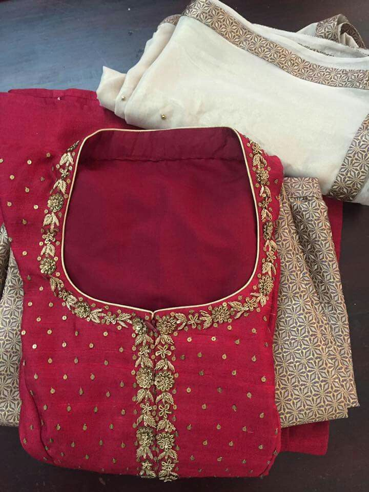 Pin By Anu Mahi On Dress Materials Pinterest Embroidery