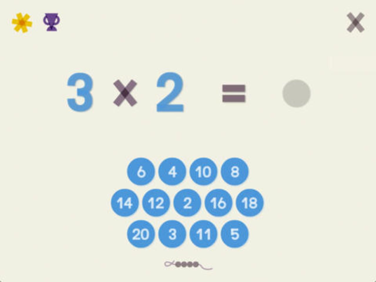 R viser ses tables de multiplication learning maths les app enfant multiplication table de - Reviser ses tables de multiplications ...