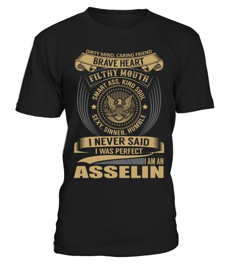ASSELIN - I Nerver Said