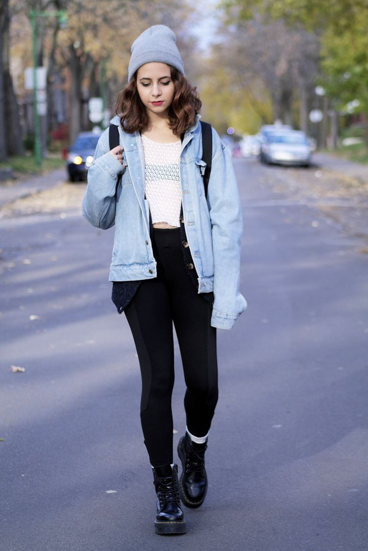 How to combat wear boots with leggings photo