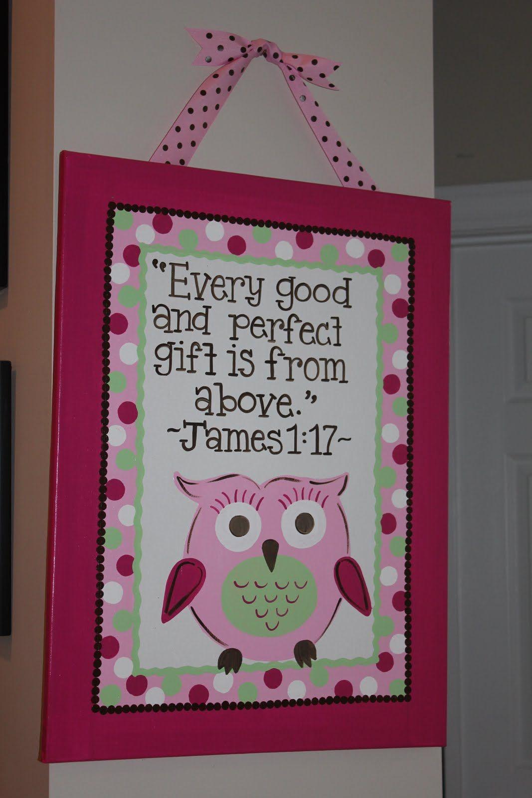 Handpainted Verse Diy And Crafts Owl Themed Nursery