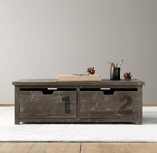 For Our Grownup Coffee Table! Mason Activity Table | Playroom | Restoration  Hardware Baby U0026