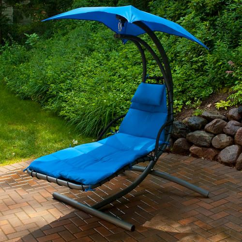 Backyard Creations Contemporary Hanging Chaise Lounge