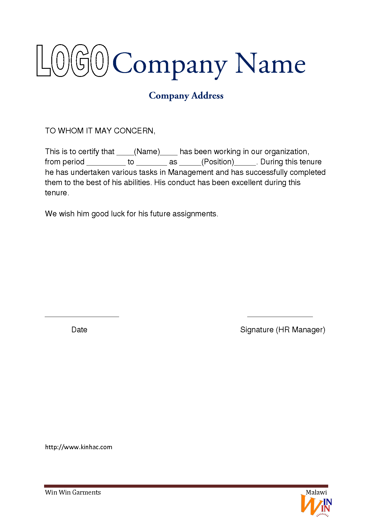 Work Experience Letter Pad Format seeabruzzo HGwzdNrk ...