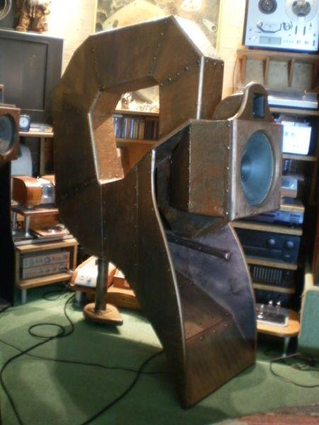 Изготовление рупорная акустика