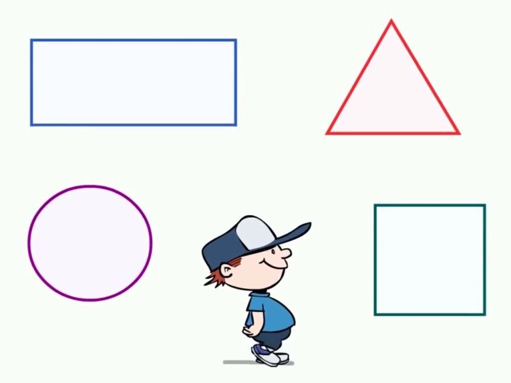 There Are Preschool Shapes All Around Sing Along With