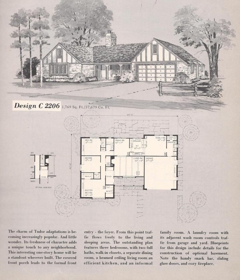 Vintage house plans vintage homes s homes interesting plans