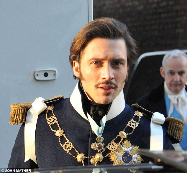 David Oakes as Prince Ernest, Albert's older brother.