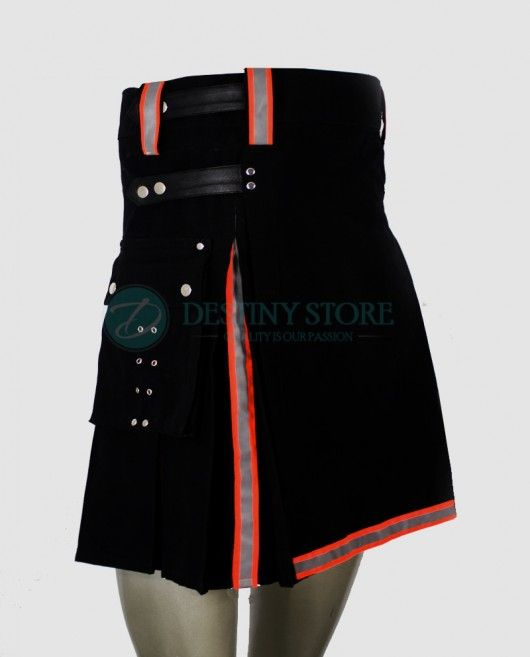 Heavy Duty Firefighter Bunker Gear Fireman Fighter Kilt made of Bunker Gear cL8Sj5pa