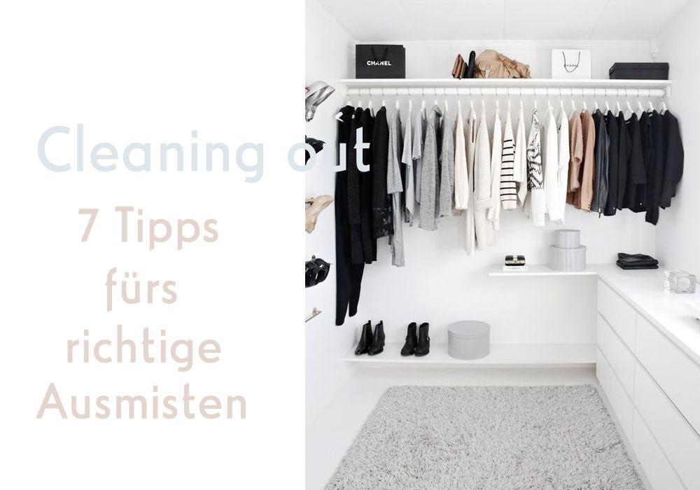 Cleaning out 7 Tipps fürs richtige Ausmisten Offener