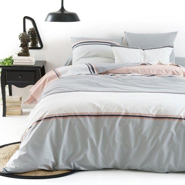 housse de couette coton nayma taille 140x200 cm. Black Bedroom Furniture Sets. Home Design Ideas