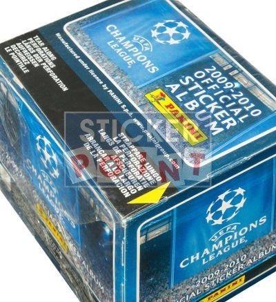 Panini Champions League 2009-2010 Display - Box oben