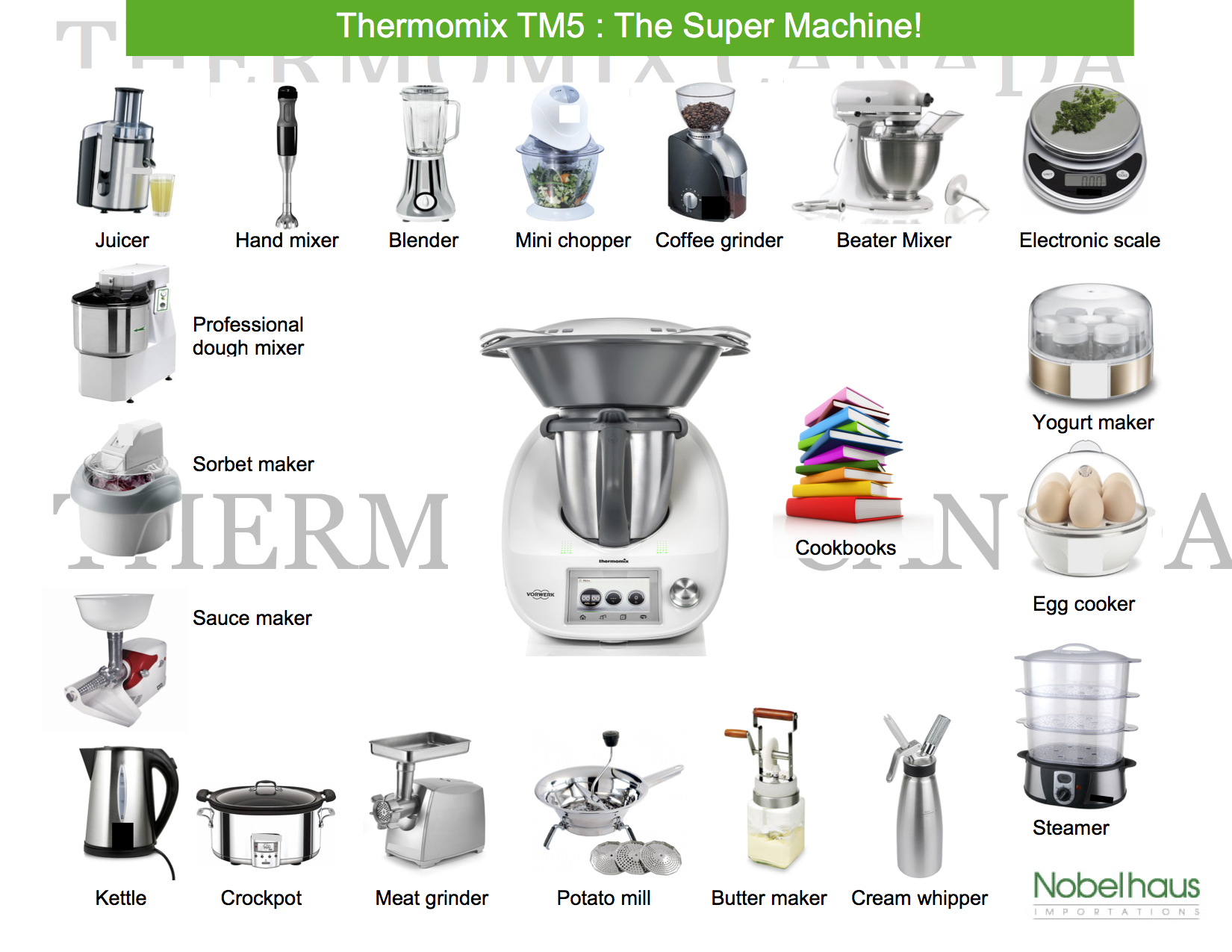 thermomix tm5 thermomix canada mi chef favorita. Black Bedroom Furniture Sets. Home Design Ideas