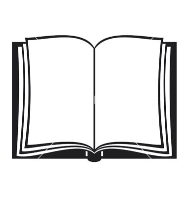 Book vector. Open by tribaliumvs image