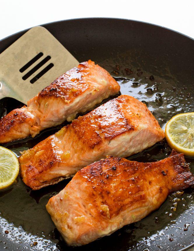 Honey Garlic Salmon Recipe Garlic Salmon Food Recipes