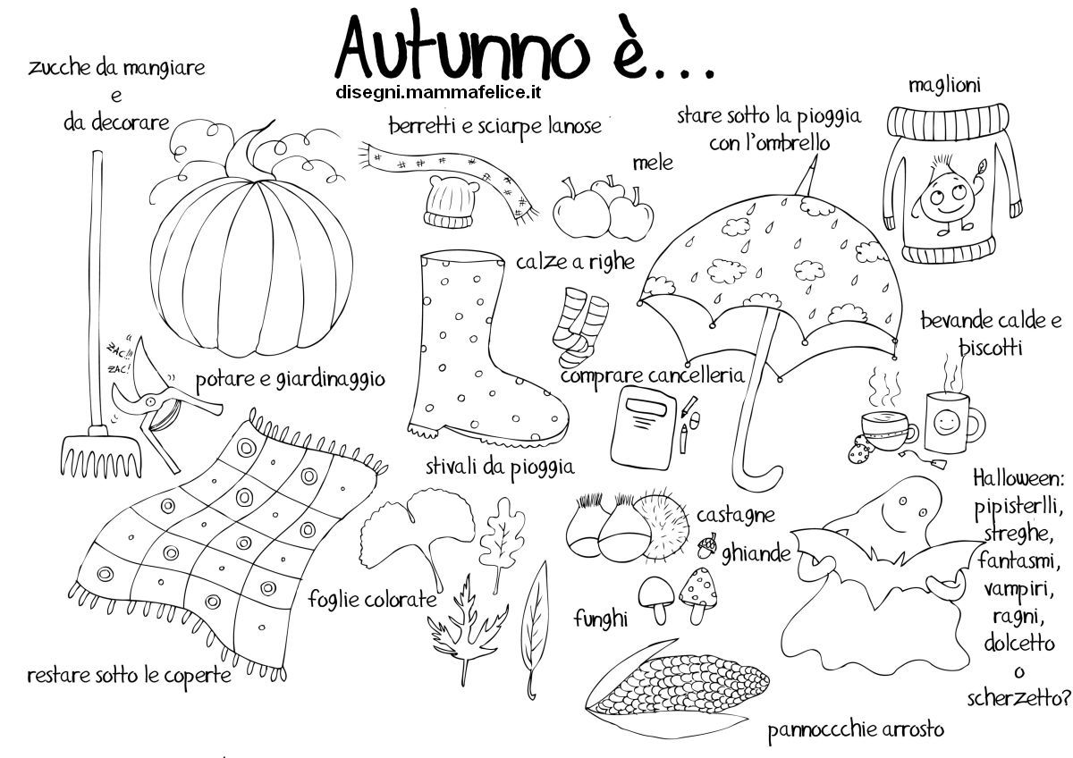 Pin Di Pina Su Arte Pinterest School Coloring Pages Autumn