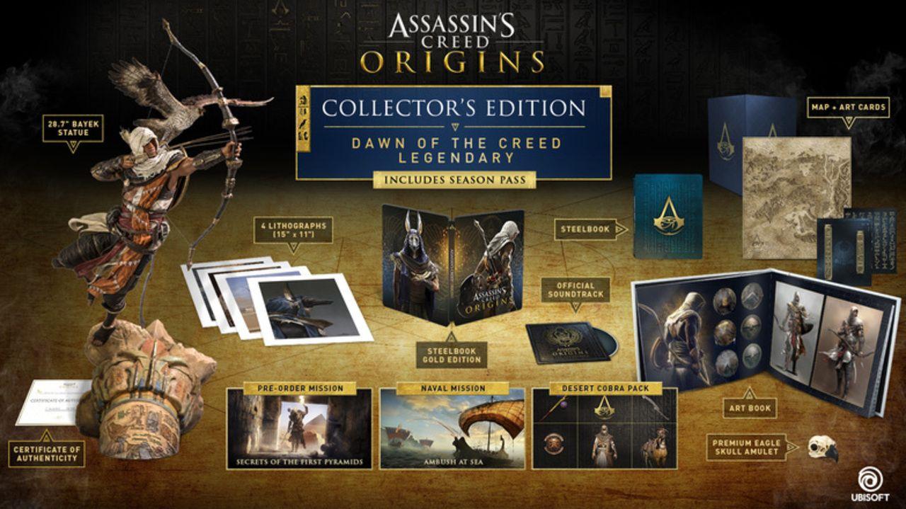 E3 2017 Assassin S Creed Origins Dawn Of The Creed Legendary