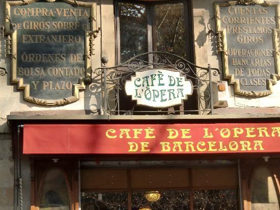 Cafe de L'Opera, Barcelona