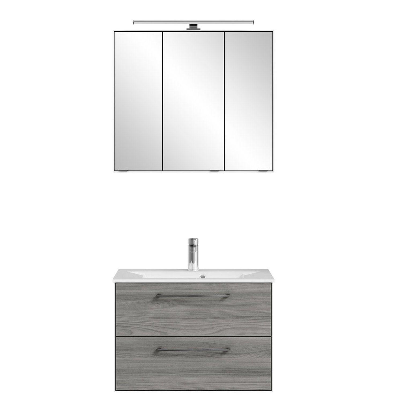Badezimmermobel Weiss Hochglanz Waschbeckenunterschrank 50 Cm Breit Bauhaus Badschranke 60 Cm Breit Badschrank Spiegelschrank Hochschrank Schrank Gunstig