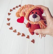 Mini teddy bear CROCHET TUTORIAL Tiny crochet bear pattern   Etsy   228x224