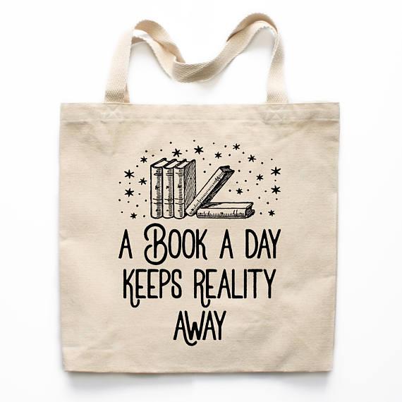 Buchen Sie Liebhaber Geschenk Buch-Einkaufstasche lustige