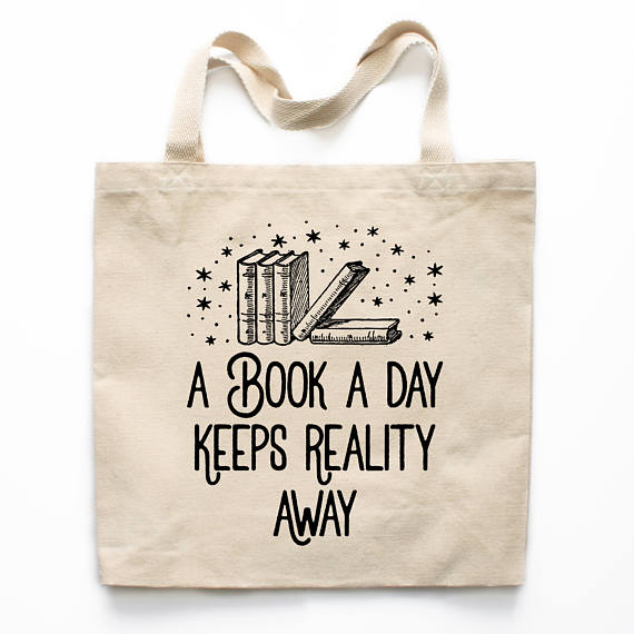 Book Lover Gift Book Tote Bag Funny Tote Bag Book Lover Market Bag Book Lover Shopping Bag Reusable Grocery Bag Christmas Gift 0333bag